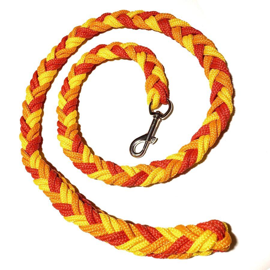 UGA pītā pavada, sarkans-dzeltens-oranžs (1:1:1)