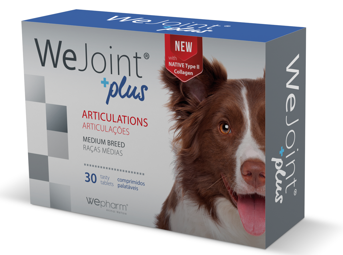 WEJOINT PLUS MEDIUM BREED garšīgās tabletes vidēja auguma suņiem