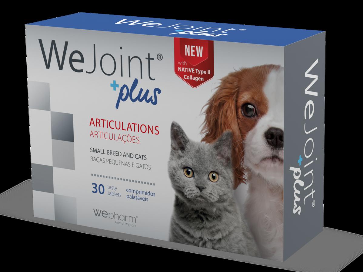WEJOINT PLUS SMALL BREED AND CATS garšīgās tabletes maziem suņiem un kaķiem