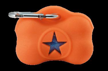 VetoPop higiēnas maisiņu turētājs, oranžs