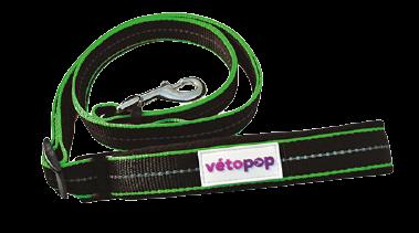 VetoPop pavada sunim, zaļa