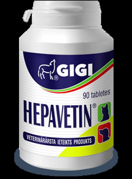 HEPAVETIN tabletes