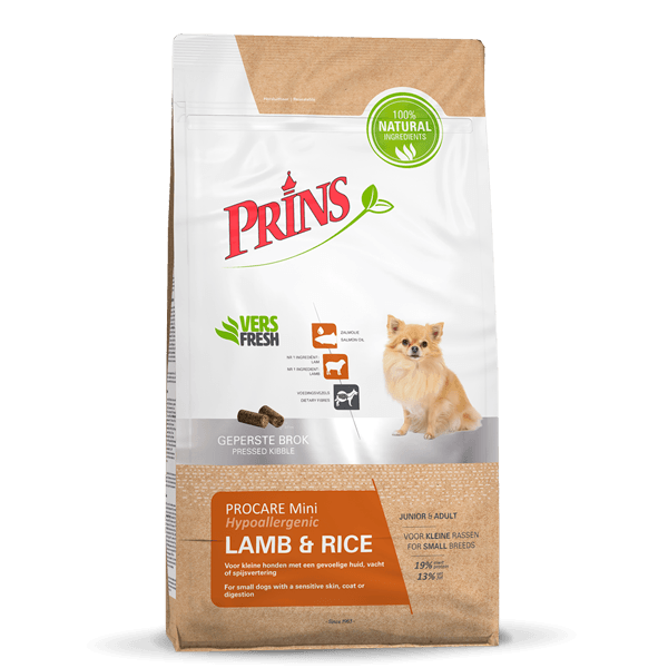 Prins ProCare Mini LAMB & RICE Hypoallergic