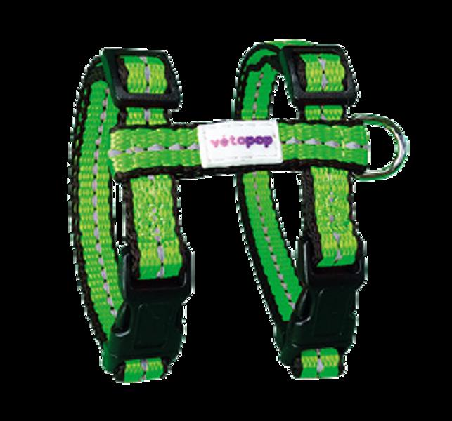 VetoPop krūšu siksna kaķim, zaļa
